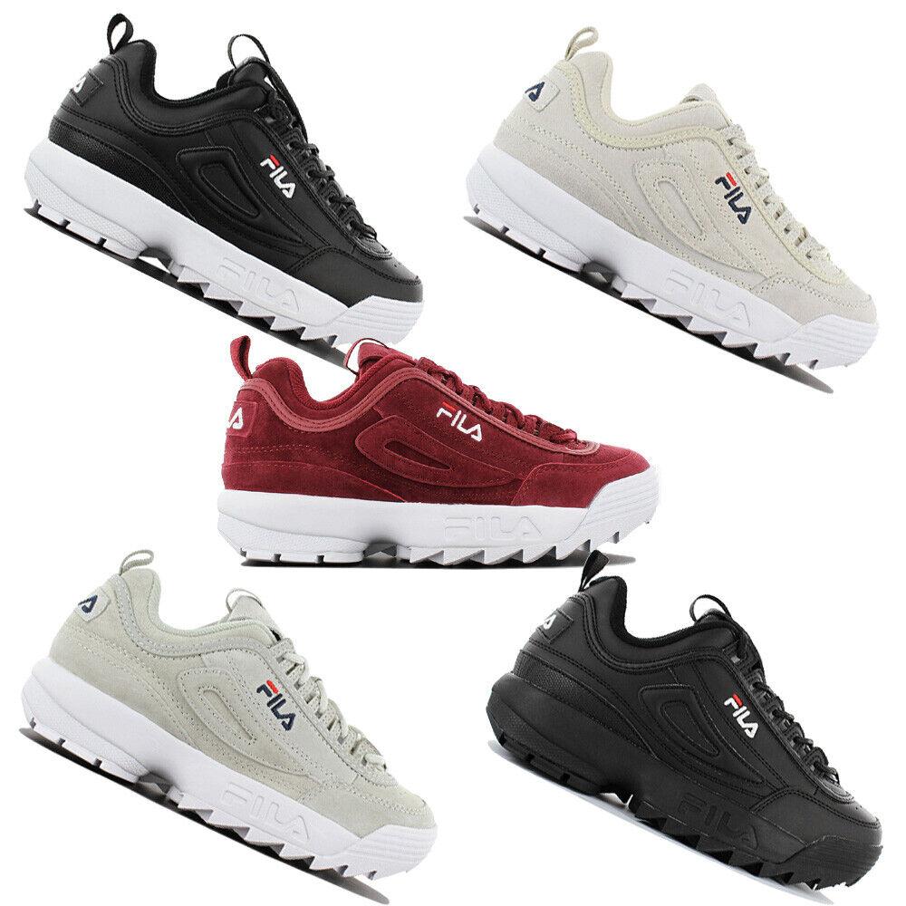 Fila disrupteur Low Femmes Fashion baskets Chaussures De Loisirs Chaussures De Sport Chaussures