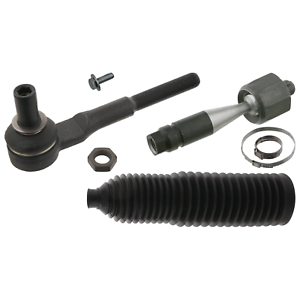 Front-Tie-Rod-Inc-Steering-Boot-Set-Fits-Seat-Exeo-Audi-A4-quattro-RS-Febi-49039