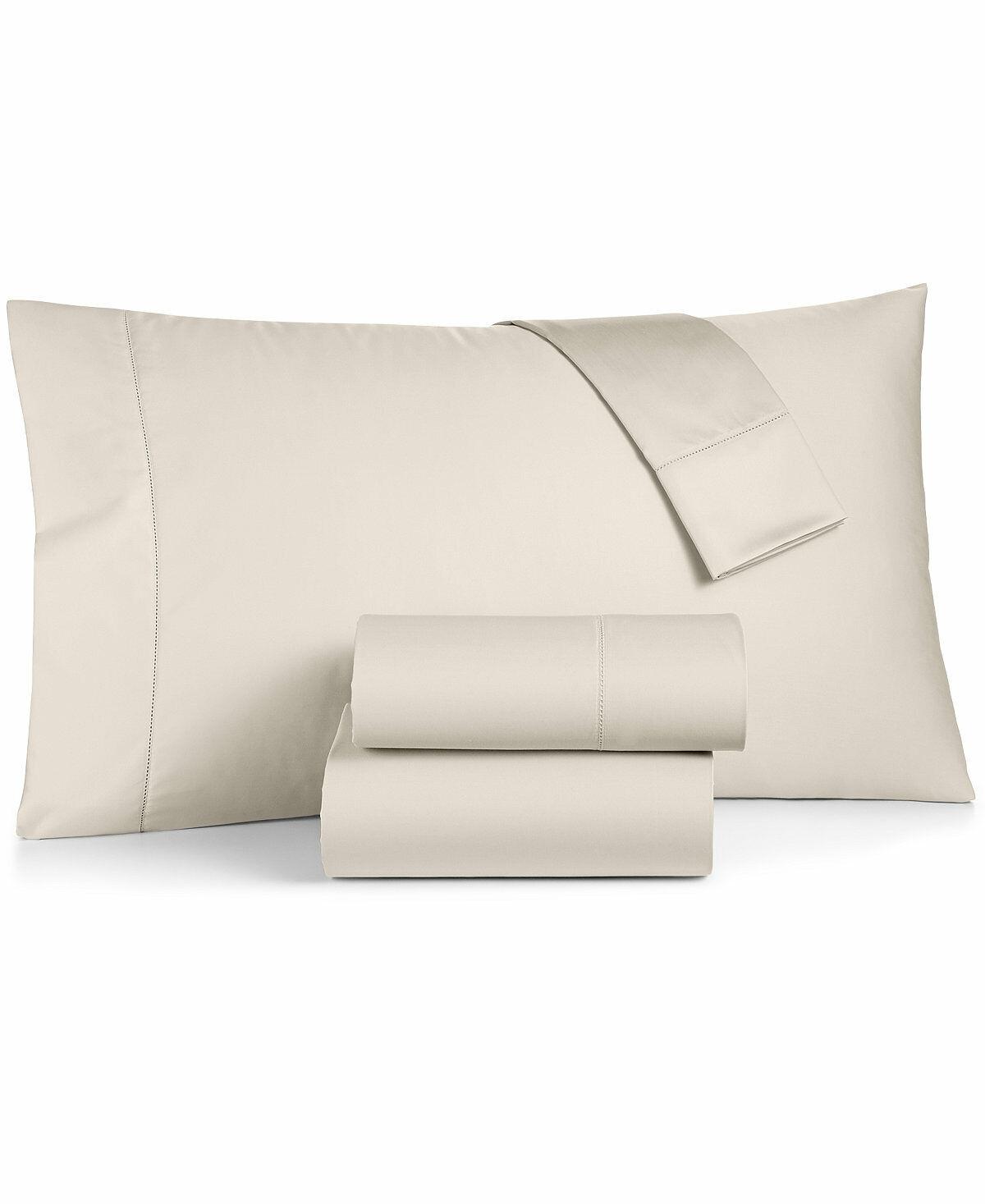 Charter Club Twin Sheet Set Damask Solid 550 TC Supima Cotton E93360