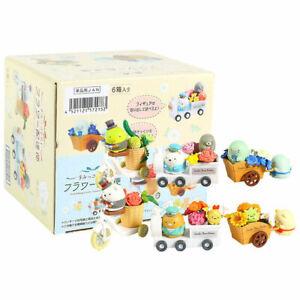 6pcs/set Re-ment Sumikko Gurashi Flower Delivery Miniature Figure New In Box