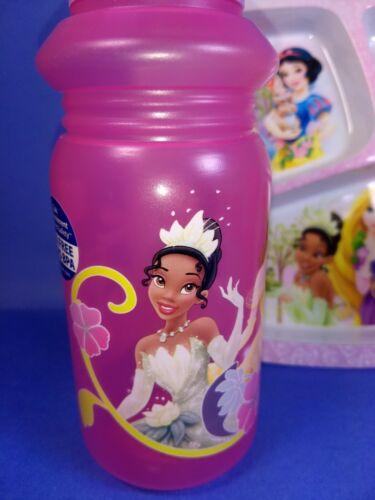 Disney Princesse Enfant Repas Ensemble Salle à Manger Eau Sport Bouteille Diviseur Plaque Tasse ZAK