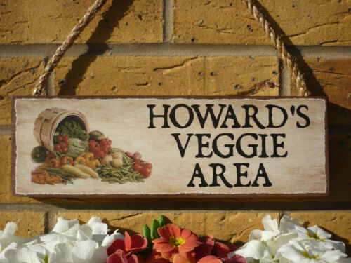 PERSONALISED ALLOTMENT SIGN WEATHERPROOF SIGN GIFTS FOR GARDENERS GIFTS FOR MEN