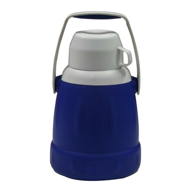 Esky ICE KING JUG WITH CUP 2.5L Big Mouth,Soft Grip Carry Handle BLUE*Aust Brand