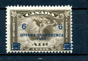 Canada-MH-C4-Air-Mail-1932-Surcharged-K398