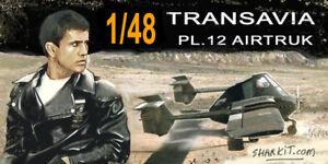 TRANSAVIA-PL-12-Airtruk-Sharkit-resin-1-48
