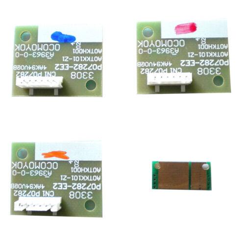 4 x Drum Reset Chip for  Konica Minolta Bizhub C452 C552 C652  IU612