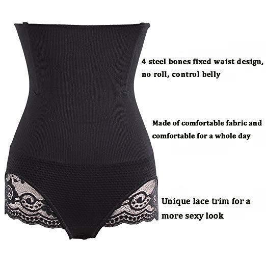 Body Shaper Miederslip Formslip Bauchweg Shapewear figurformende Unterwäsche @DE