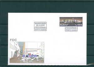 201002 Europe Aland Fdc Aus 2002 Siehe Beschreibung Stamps