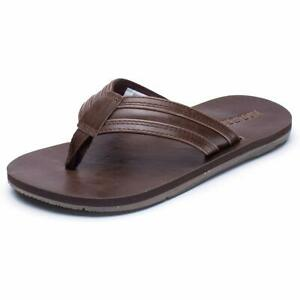 ef87b3c84cae Details about GUBARUN Mens Flip Flop Sandals Thong Indoor and Outdoor Beach  Slippers