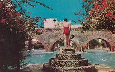 """*Mexico Postcard-""""Pool @ La Hacienda de Vista Hermosa"""" /Morelos/ (U1-16)"""