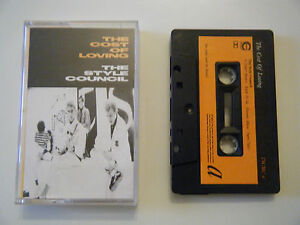 THE-STYLE-COUNCIL-THE-COST-OF-LOVING-CASSETTE-TAPE-1987-ORANGE-LABEL-POLYDOR-UK