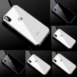 6-Plated-X-Case-Soft-Phone-Plus-For-XS-Cover-TPU-XR-Back-8-7-iPhone-MAX-Silicone