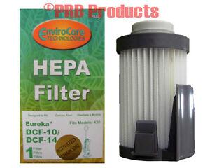 Eureka Dcf 10 14 Hepa Filter 62731 A B Model Optima Pet