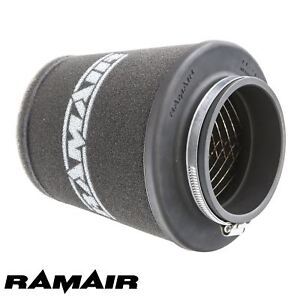 RAMAIR-INDUCTION-FOAM-CONE-AIR-FILTER-UNIVERSAL-WIDE-70mm-MADE-IN-THE-UK