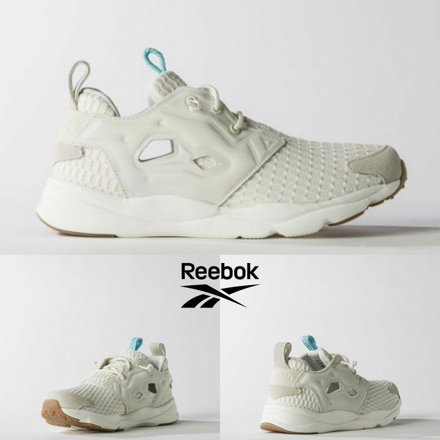 Reebok Furylite Room Runner Chaussures Beige blanc BD1974 SZ 5-12.5 100% Authentic