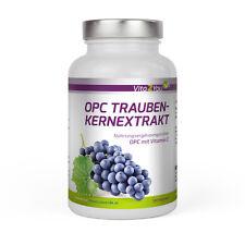 Vita2You OPC Traubenkernextrakt - 180 Kapseln mit Vitamin C - Traubenkern
