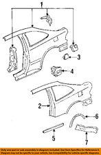 Honda OEM 93-95 Civic Inner-quarter Panel-inner Wheelhouse