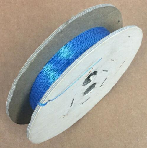 EST.1000/' KYNAR 30 AWG WIRE COPPER WRAP BLUE