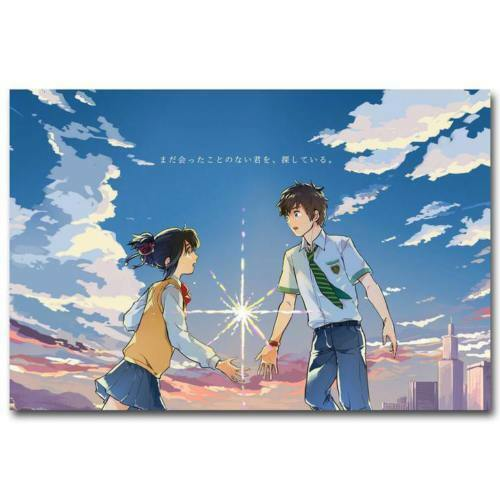 "Your Name Anime Movie Poster Silk Print 13x20/"" 20x30/"" 24x36/"" #06"