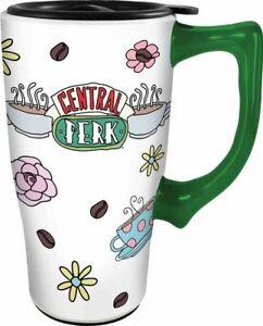 Friends Central Perk Ceramic Travel Coffee Mug