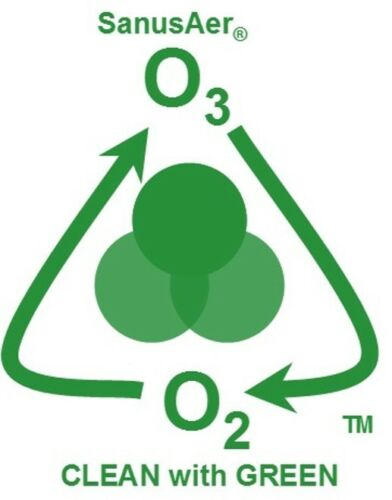 Ozone Generator Air Purifier Mold Allergen Smoke Odor SanusAer 40000