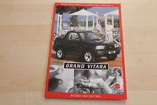 87578) Suzuki Grand Vitara + Cabrio Prospekt 04/1999