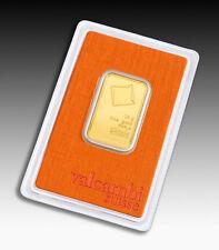 Goldbarren 20g 20 Gramm Valcambi Suisse Blister Gold 99,99 gold bar