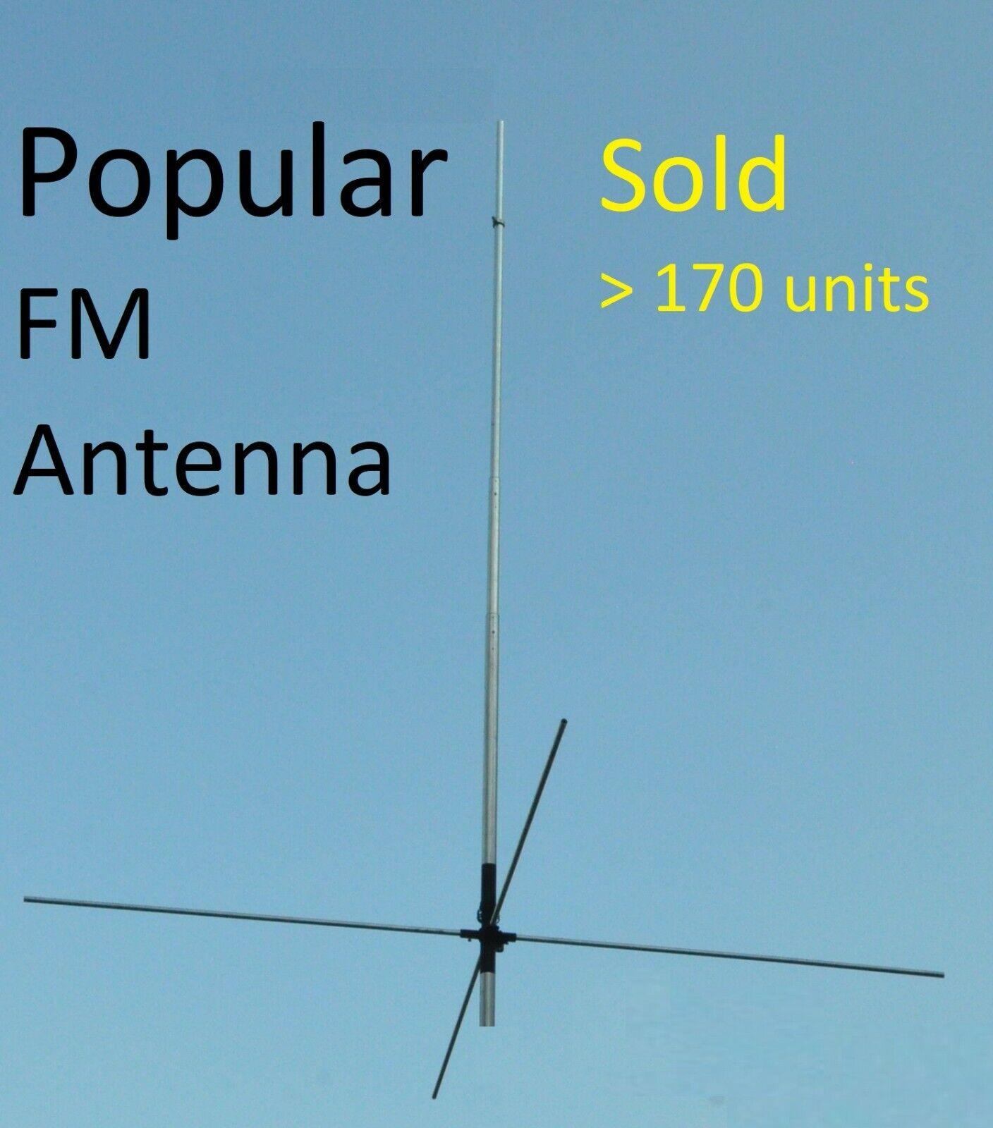 FM BROADCAST DIPOLE ANTENNA AERIAL /& FIXINGS 88-108 MHz 500 watt