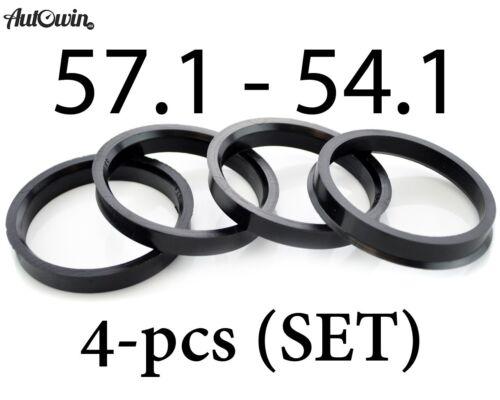 Hub Centric Rings Alloy Wheels Spigot Rings Centre Rings 57.1-54.1 57.1-54.1