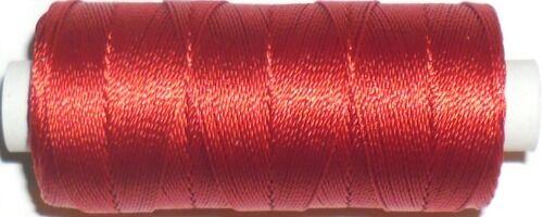 Hilo de nylon fuerte Unido Ackermann Synton años 20 140MTR Carrete elige color