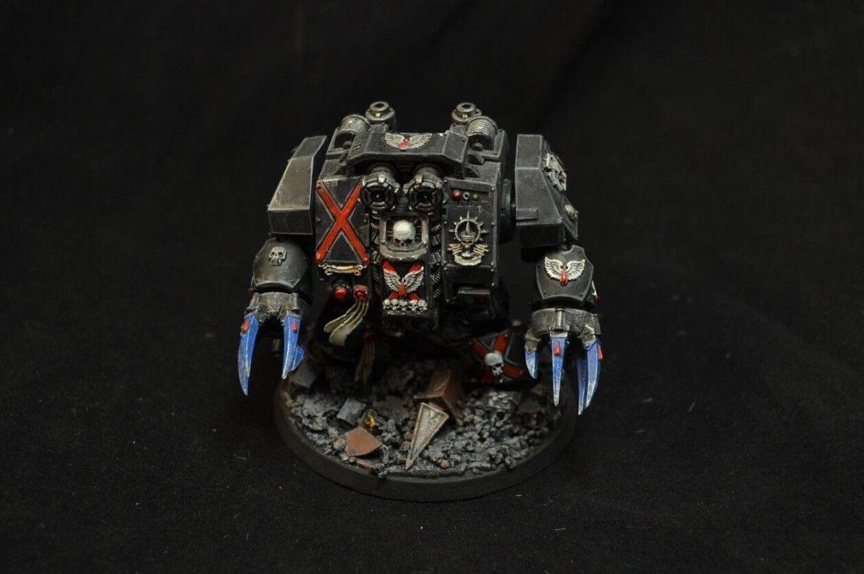 Warhammer 40000 Blood Angels muerte empresa Dreadnought Pintado