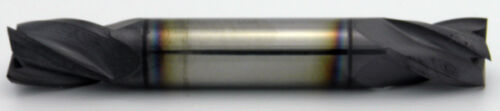 "1//4/"" LOC 4 Flute Double End ALTiN Carbide End Mill USA #56650 1//8/"" Diameter"