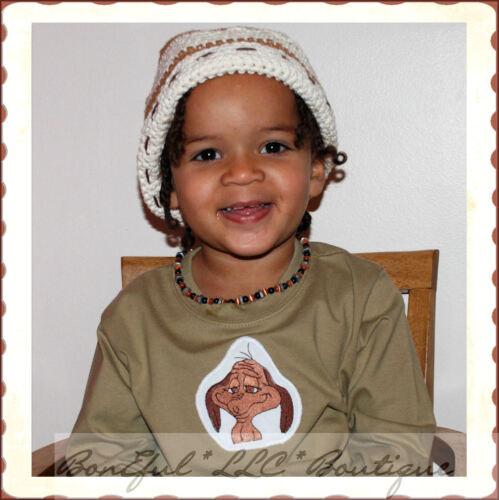 BonEful RTS Boutique Xmas Baby BOY 12-18 M NEW Dr Seuss Dog Max Grinch Shirt Top