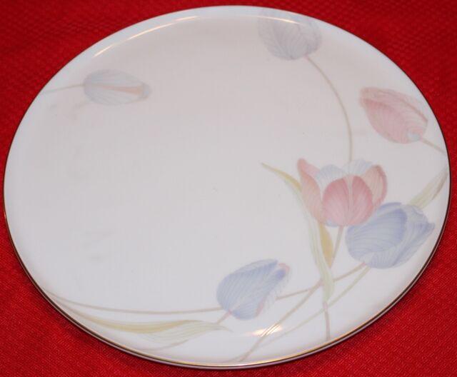 Mikasa Swiss Garden 12  Bone China Cake Plate FX009 306 New & Mikasa Bone China Swiss Garden FX009 Cake Plate C3 | eBay