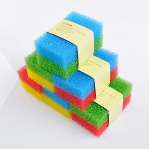 10pcs Sponge Cleaning Dishwashing Catering Scourer Kitchen Loofah Scouring Pad