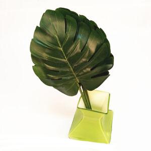 6pcs Artificial Palm Fern Turtle Leaf Plant Tree Branch Wedding Home
