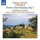 Trio Sonatas (semperconsort) 0747313018277 by Vitali CD