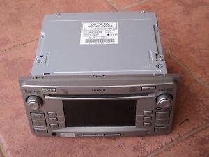 TOYOTA-Camry-Corolla-PRADO-Hiace-Hilux-GENUINE-6-CD-MP3-PLAYER-BLUETOOTH-AUDIO