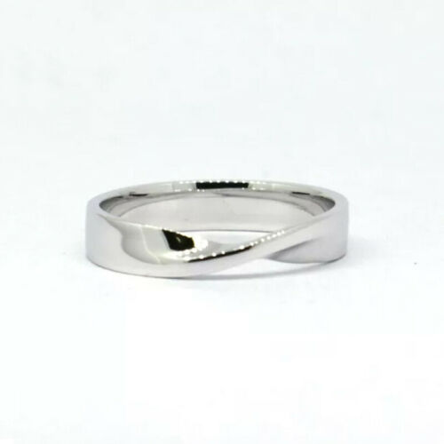 size 4-16 Tailor Made Unique Solid .925 Sterling Silver Twister Band Ring