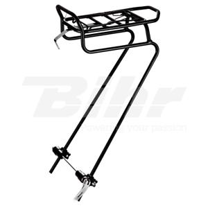 15330 Portabagagli anteriore bici da QR 24  -26 -28  in alluminio color black  fast delivery