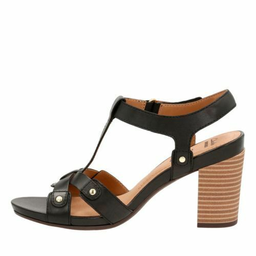 74e067c56b16 3 of 7 Clarks Women s Banoy Valtina Dress Sandal Black Leather 26124677