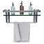 GeekDigg-Bathroom-Shelf-Tempered-Glass-Floating-Shelves-Wall-Mounted-Storage thumbnail 2