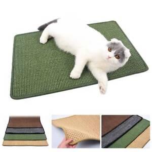 Cat-Pet-Kitten-Scratcher-Scratching-Pad-Board-Corner-Floor-Wall-Sisal-Board-Mat