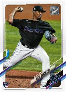 2021 Topps MLB Digital NFT Series 1 Sixto Sanchez Minted 2460/2657 RC Rookie