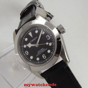 41mm-corgeut-black-dial-Sapphire-glass-miyota-8215-Automatic-mens-Watch-C104