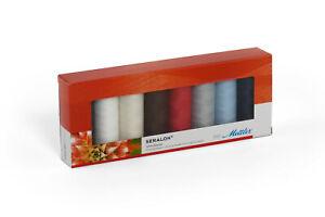 Premium Mettler Seralon 100/% Polyester Autumn Sewing Thread Embroidery Crafts