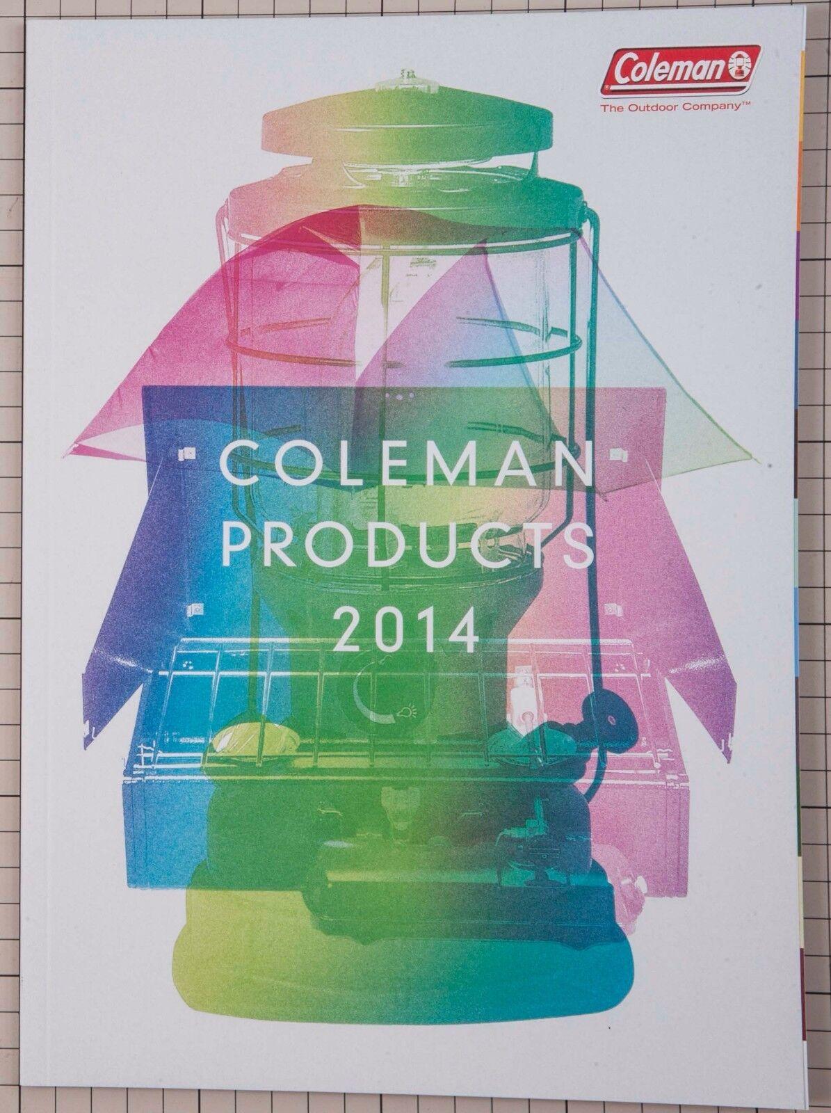 Coleman Outdoor Products catálogo 2014 Japanese tablewear refugio Linterna