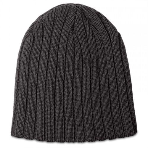 CASPAR Herren Winter Strick Mütze Beanie Wintermütze Strickmütze Woll-Optik NEU