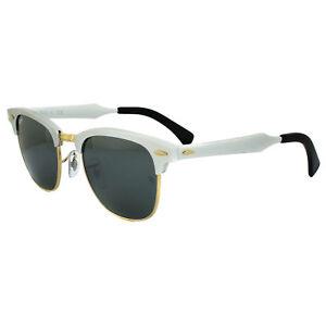 81f639cbf13ae Ray-Ban Sunglasses Clubmaster Aluminium 3507 137 40 Silver Silver ...