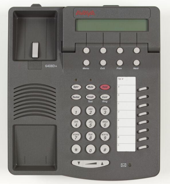 50 Refurbished Grey Avaya Definity 6408D Phone Sets Many Available
